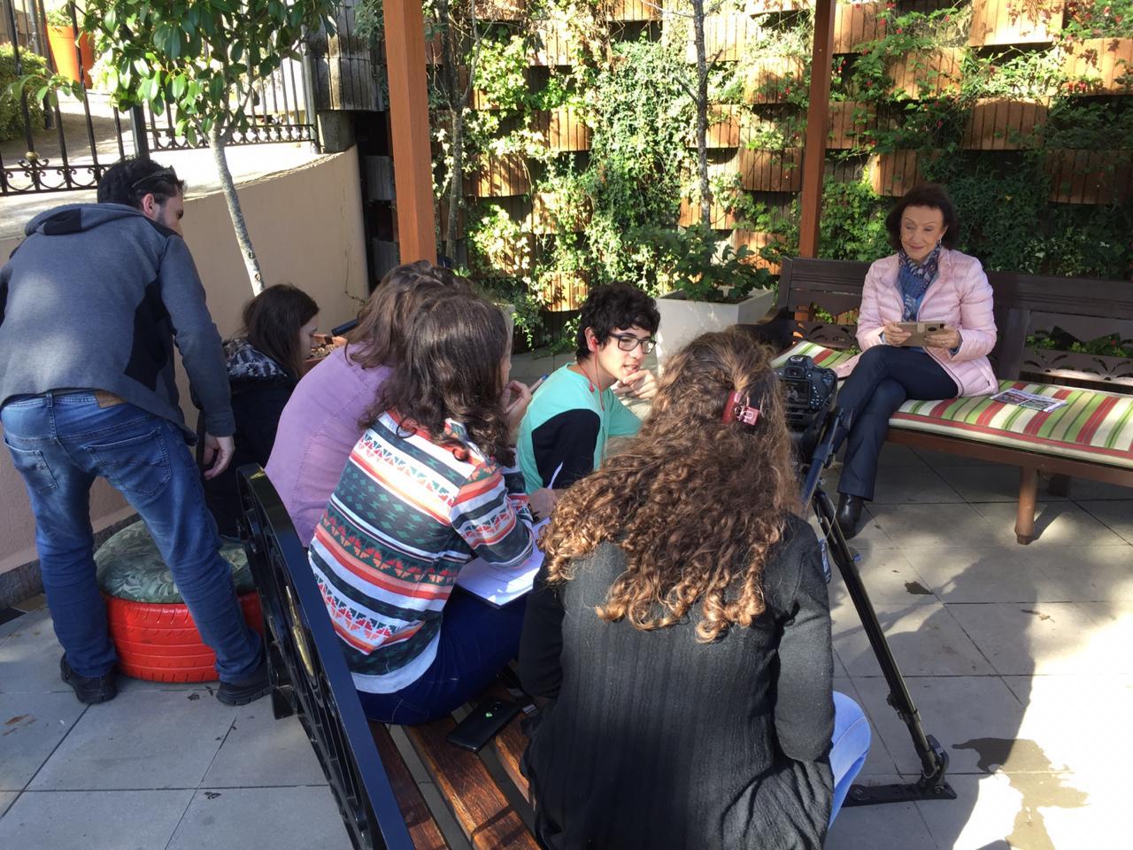 Série documental: gravações e palestra